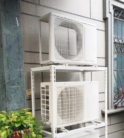 请问空调外机可以上下叠放吗?